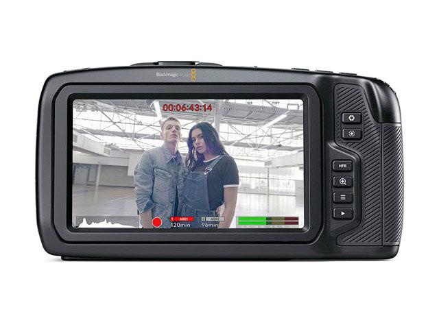 Blackmagic Pocket Cinema Camera 6K背面