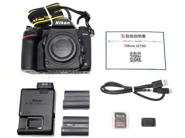 Nikon D780付属品