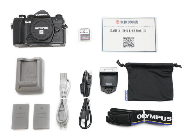 マイクロ一眼 OM-D E-M5 Mark III 背面