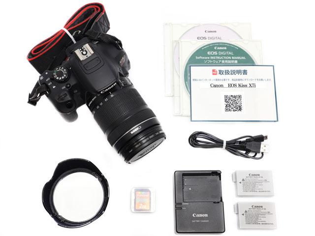 EF-S18-135mm F3.5-5.6 IS STM レンズ付き 付属品