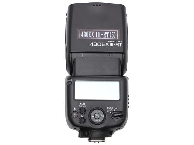 Canon スピードライト430EX III-RT 背面