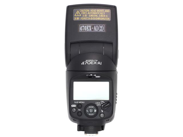 Canon スピードライト470EX-AI 背面