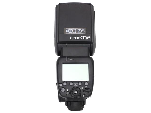 Canon スピードライト600EX II-RT 背面