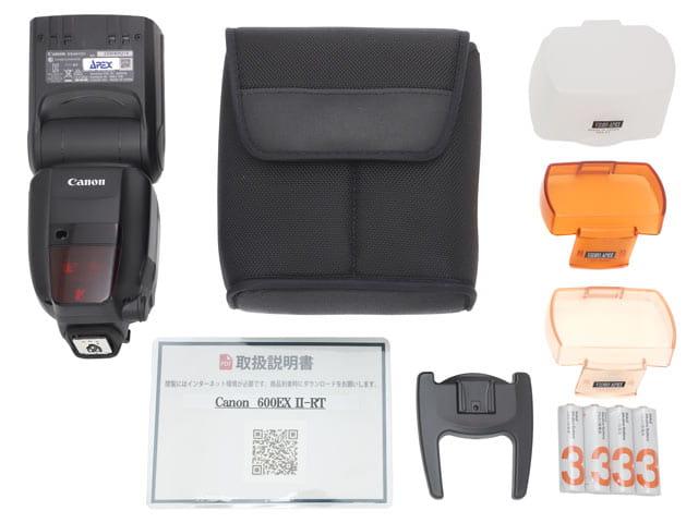 Canon スピードライト600EX II-RT 付属品