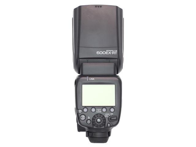 Canon スピードライト600EX-RT 背面