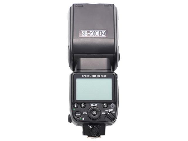 Nikonストロボ SB-5000 背面