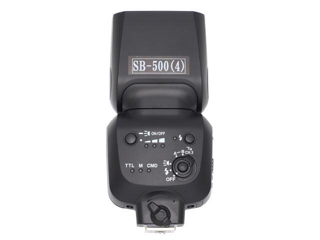 Nikonストロボ SB-500 背面
