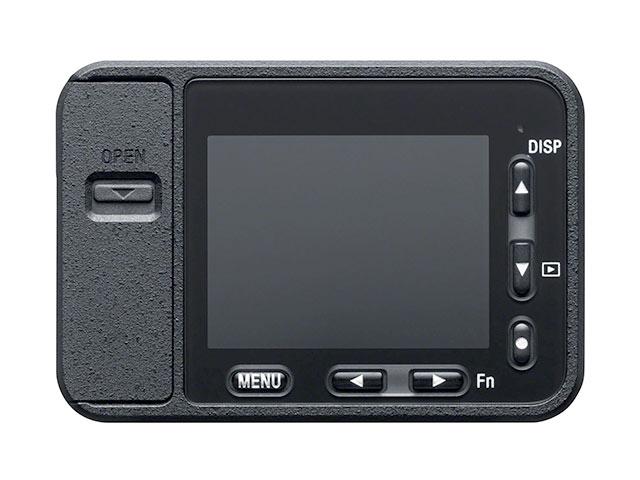 サイバーショット DSC-RX0背面