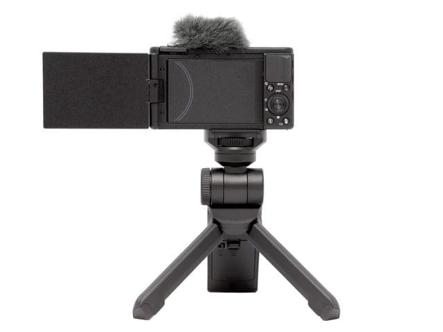 Vlog撮影用デジタルカメラレンタル ZV-1G背面