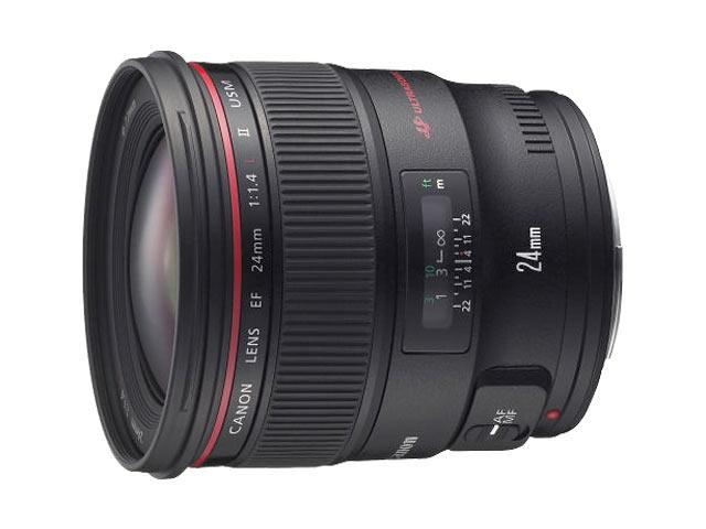 キヤノン Canon EF24mm F1.4L II USM