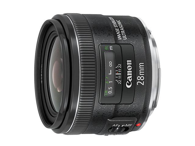 キヤノン Canon EF28mm F2.8 IS USM