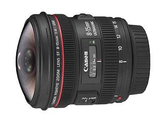 キヤノン Canon EF8-15mm F4L フィッシュアイ USM