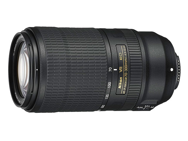 ニコン Nikon AF-P NIKKOR 70-300mm f/4.5-5.6E ED VR