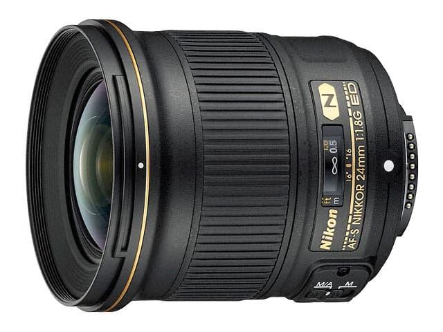 ニコン Nikon AF-S NIKKOR 24mm f/1.8G ED