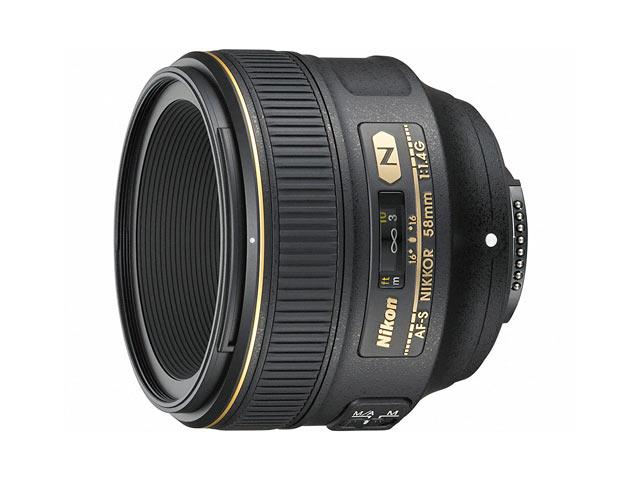 ニコン Nikon AF-S NIKKOR 58mm f/1.4G