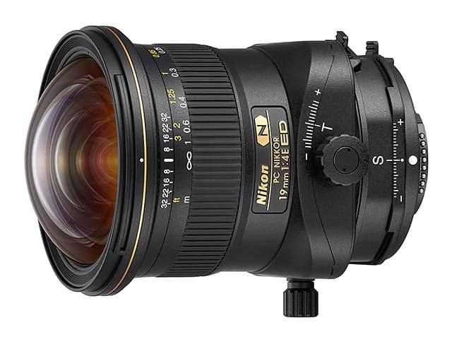ニコン Nikon PC NIKKOR 19mm f/4E ED