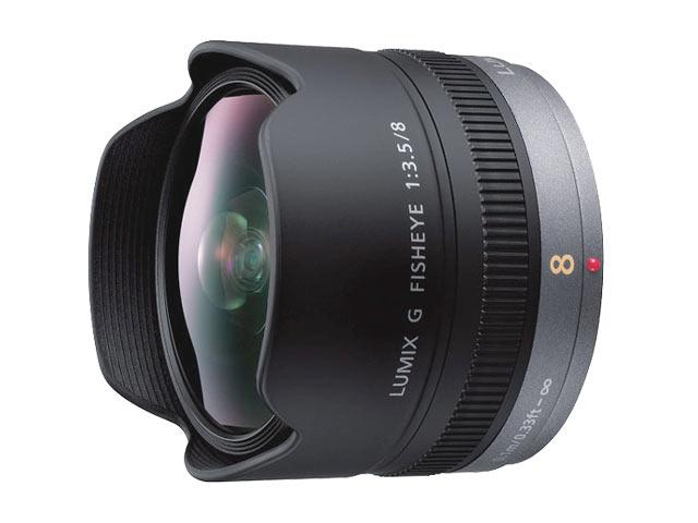 パナソニック LUMIX G FISHEYE 8mm/F3.5 H-F007014
