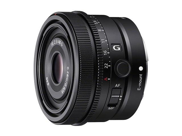 SEL40F25G(FE 40mm F2.5 G)