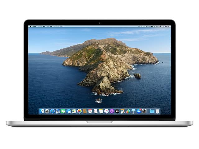 MacBook Pro 2500 MJLT2J/A(15.4インチ)Retinaディスプレイ 10.15