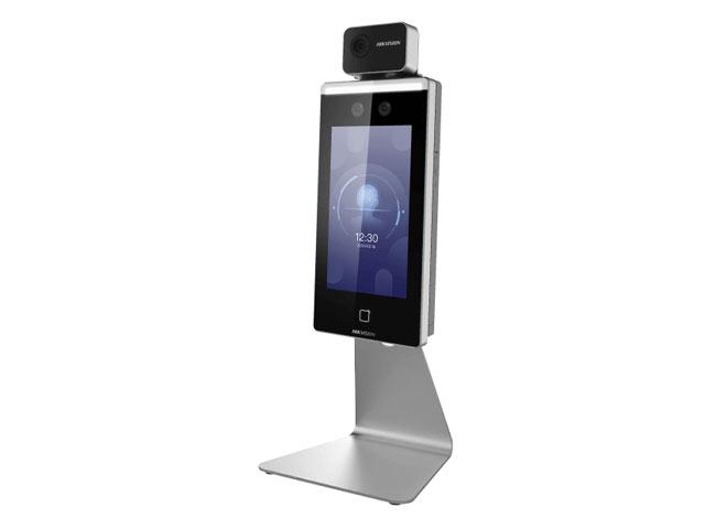 体表面温度計測機能付 顔認証リーダー(スタンド付)
