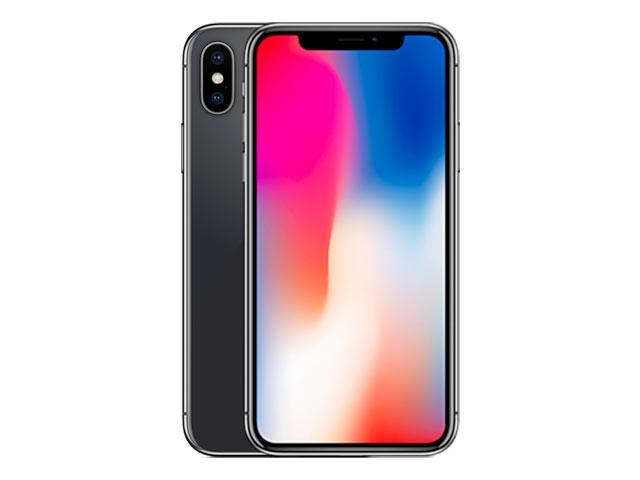 iPhone X SIMフリー スペースグレイ MQAX2J/A