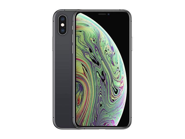 iPhone XS SIMフリー スペースグレイ MTAW2J/A