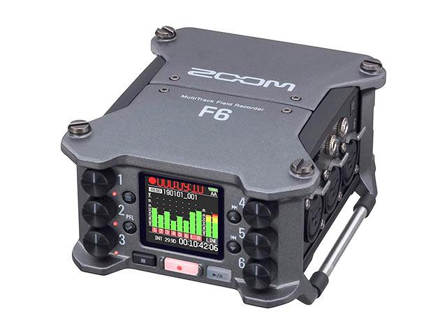 フィールドレコーダー ZOOM F6