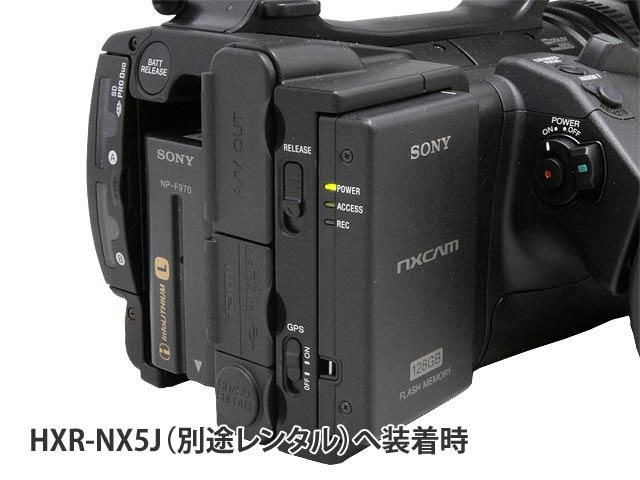 HXR-NX5Jとの装着例