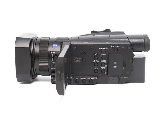 ソニー FDR-AX700 インターフェイス