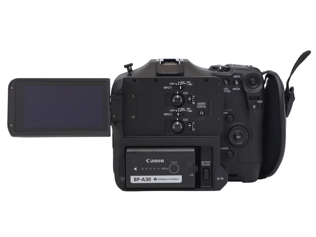 キヤノン シネマカメラ C70