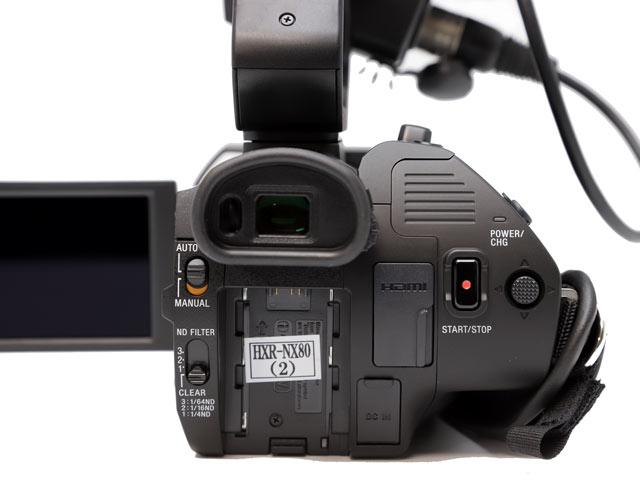 HXR-NX80 詳細写真