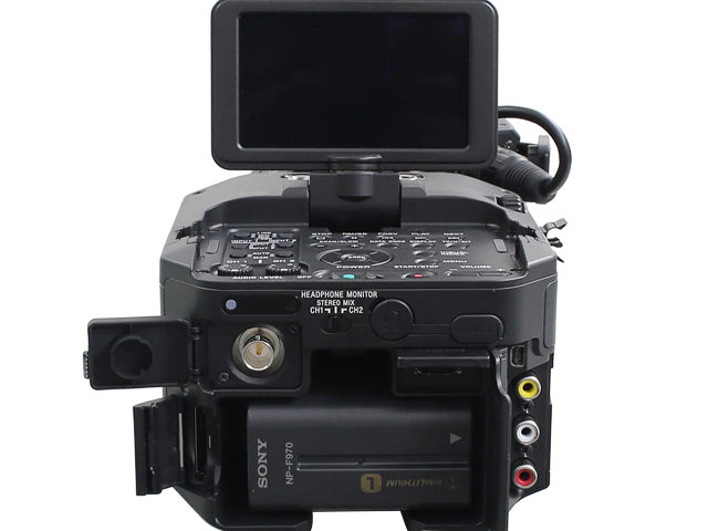 NEX-FS700JK 背面写真