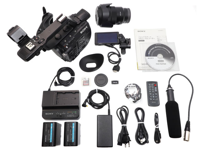 PXW-FS5K メモリーカムコーダー