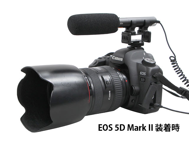 5D Mark II装着時