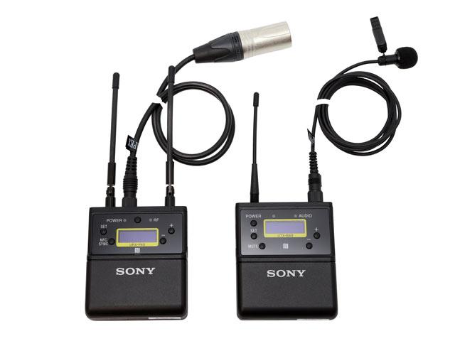 SONY ワイヤレスマイク UWP-D21
