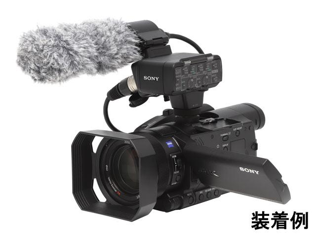 ソニー XLRアダプターキット XLR-K2M装着例