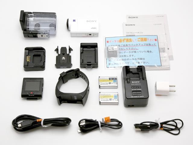 SONY FDR-X3000R 付属品